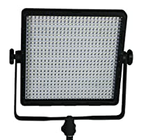 ePhoto 600 LED Professional Studio Video Light Panel Photography Lighting Sony V Mount by ePhotoinc CN600SD
