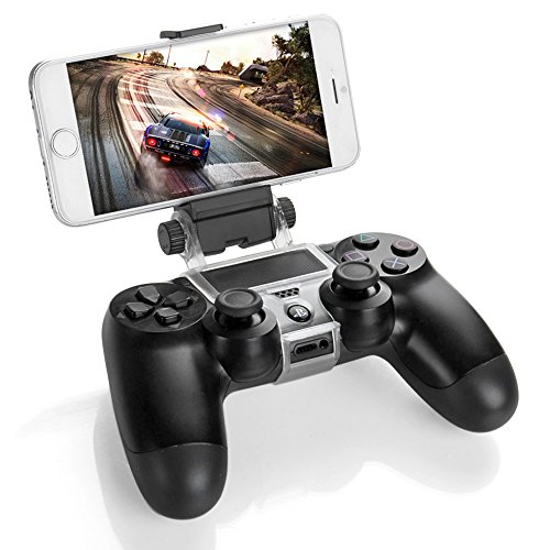 Smart Phone Clip Clamp Mount Holder Stand Bracket for Sony PlayStation 4 PS4 Wireless Controller [Playstation 4]