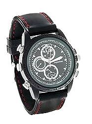 Krazzy Collection SC Series High definition Black Wrist Watch Camera