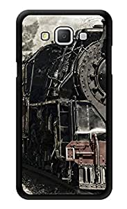 "Humor Gang Old Train Engine Printed Designer Mobile Back Cover For ""Samsung Galaxy A5"" (3D, Glossy, Premium Quality Snap On Case)"