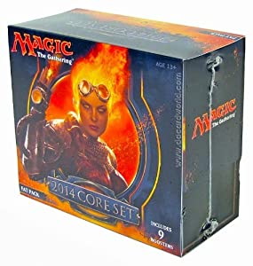 MTG Magic the Gathering M14 Magic 2014 Fat Pack (9 Booster Packs)