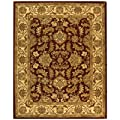 Safavieh Heritage HG628D Area Rug - Red/Ivory