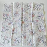 Ladies Japanese Silk Handkerchief, stylish and elegent flower design by Junichi