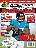 2011 Athlon Sports NFL Pro Football Magazine Preview- Jacksonville Jaguars Cover at Amazon.com