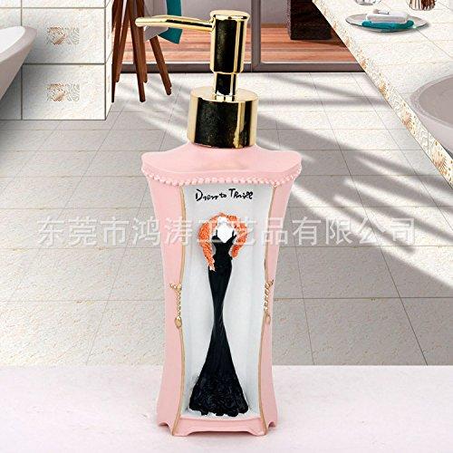 queens-pink-ladies-upscale-resin-emulsion-bottle-of-press-kit-wash-bottle-bottle-creative-hand-washi