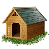 Alpine Lodge Dog House Size: Small
