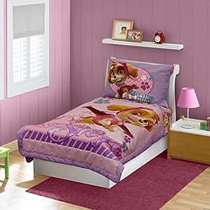 Paw Patrol Skye Toddler Bedding Set Pink