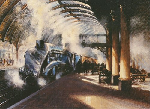 steam-train-a4-silver-link-york-railway-station-1947-blank-any-occasion-greeting-card