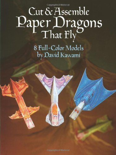 Cut assemble paper dragons that fly dover