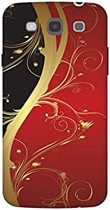 The Racoon Grip Red Haze hard plastic printed back case / cover for Samsung Galaxy Mega 5.8
