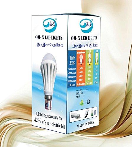3W-B22/E27-LED-Bulb-(White)