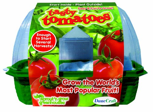 DuneCraft Sprout 'n Grow Greenhouses - Tomatoes - 1