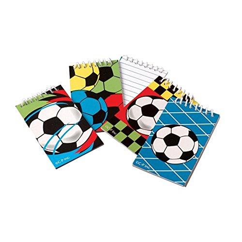 """Mini 3.5"""" Soccer Notebooks (12 Pack) - 1"""