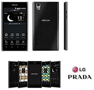 LG Prada 3.0 Unlocked Smartphone Android 2.3 Gingerbread, 8 MP Camera -- International Version with No Warranty
