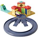 Chuggington Die-Cast Launch And Go Roundhouse Playset