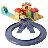 Learning Curve Diecast Chuggington Trainee Roundhouse Playset with Koko