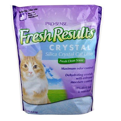 pro-sense-fresh-results-crystal-silica-cat-litter-8-pound