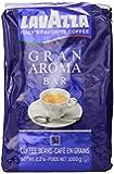 Lavazza Gran Aroma Bar Coffee Beans, 2.2-Pound