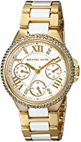 Michael Kors Chronograph Mini Camille Stainless Steel Womens Watch
