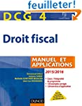 DCG 4 - Droit fiscal 2015/2016 - 9e �...