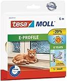 Tesa® Calfeutrer 05463-00120-00 Bourrelet caoutchouc profil E 6 m x 9 x 4 mm