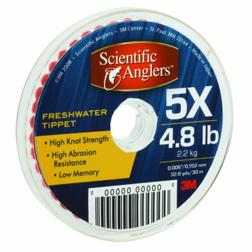 Scientific Anglers  Freshwater Tippet Material (Size: 5X)