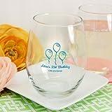 Personalized 15 oz. Stemless Wine Glass