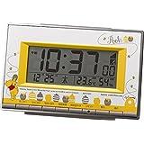 リズム時計 くまのプーさん 電波目覚まし時計 8RZ133MC08