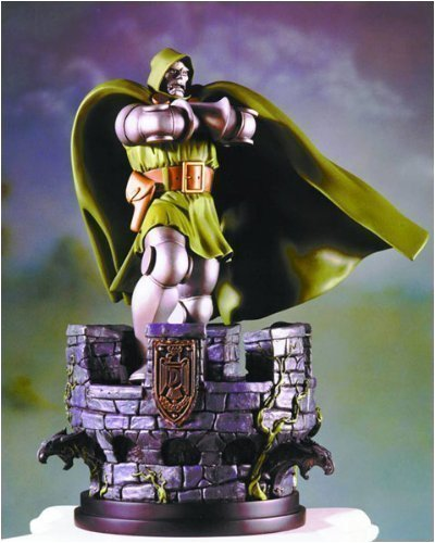 Picture of Bowen Dr. Doom (Fantastic Four) Mini Statue by Bowen Designs! Figure (B001GE08B0) (Fantastic Four Action Figures)