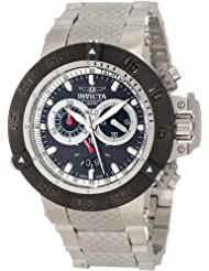Invicta Men's 10191 Subaqua Noma III Chronograph Black Carbon Fiber Dial Watch