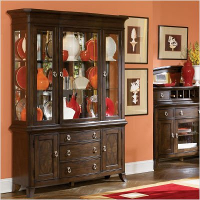 Buy low price home line furniture bellevue china cabinet in mocha d329c Home furniture online low price