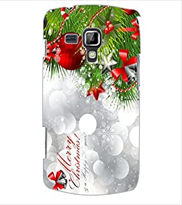 ColourCraft Christmas Design Back Case Cover for SAMSUNG GALAXY S DUOS 2 S7582