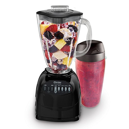 For Sale! Oster 006706-BG3-000 Simple Blend 100 10 Speed Blender with Blend and Go Cup, Black