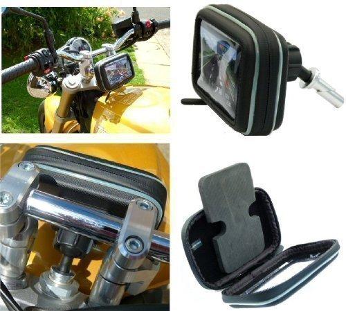 24mm-Sport-Moto-moto-Potence-Fourche-Attelage-TomTom-GPS-Satnav-Montage-compatible-avec-76cm-109cm-crans-SKU-16138