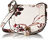 Ivanka Trump Claudia Small Saddle Bag Convertible Cross Body