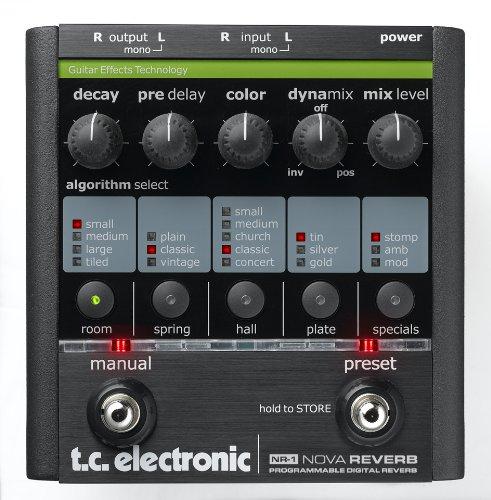 Tc Electronic Nr-1 Nova Reverb Guitar Pedal