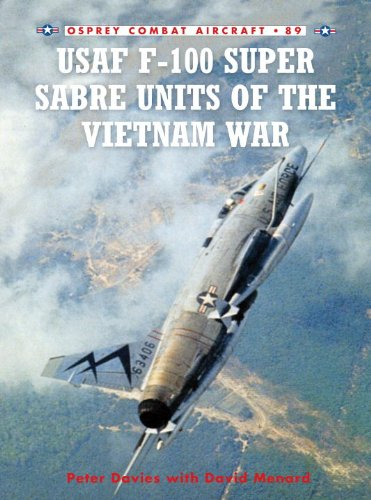 USAF F-100 Super Sabre Units of the Vietnam War (Combat Aircraft)