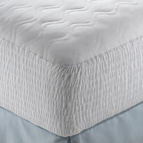 beautyrest mattress pad cotton top twin xl size home garden linens bedding bedding protectors pads. Black Bedroom Furniture Sets. Home Design Ideas