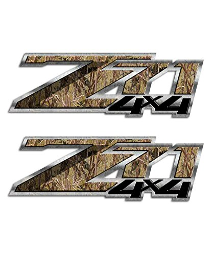 Duck Hunting Decal Z71 Swamp Grass Camo 4×4 Silverado Sticker
