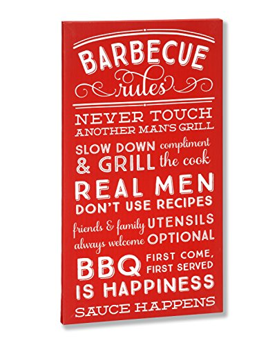 Occasionally Made Canvas Wall Art-BBQ (Bbq Canvas Art compare prices)