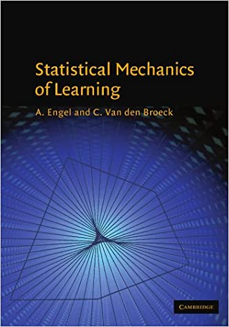 Statistical Mechanics of Learning written by A. Engel