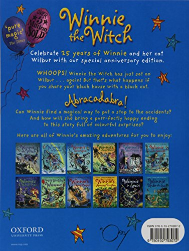 Winnie the Witch 25th Anniversary Edition (paperback and CD)