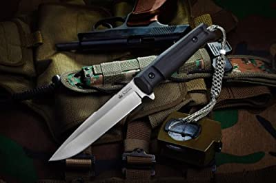 Kizlyar KK0209 Delta D2 Russian Made Tactical Knife, Satin from CAS HANWEI :: Combat Knife :: Tactical Knife :: Hunting Knife :: Fixed Blade Knife :: Folding Blade Knife