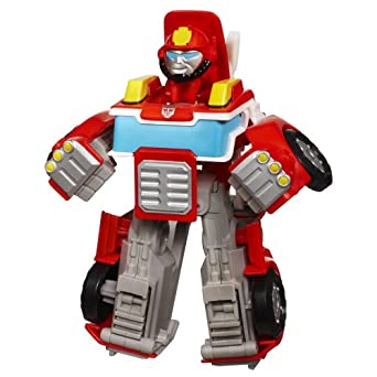 Transformers Rescue Bots Playskool Heroes Heatwave The Fire-Bot Figure