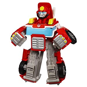 Transformers Rescue Bots Playskool Heroes Heatwave The Fire-Bot Figure