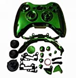 eFashion Full Housing Shell Case for XBOX 360 Wireless Controller Chrome Green
