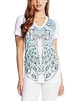 Just Cavalli Camiseta Manga Corta (Blanco)