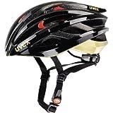 UVEX FP 3 Bicycle Helmet black-gold shiny Size:53-56 cm