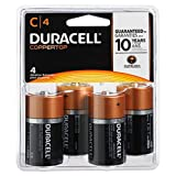 DURMN1400R4ZX - Duracell MN1400R4Z C Size Alkaline General Purpose Battery, 4 Count