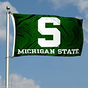 Buy Michigan State Spartans Double-Sided 3x5 Flag by College Flags and Banners Co.